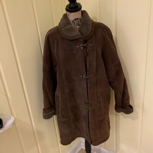 Warm & High quality Pig Split Suede winter Jacket